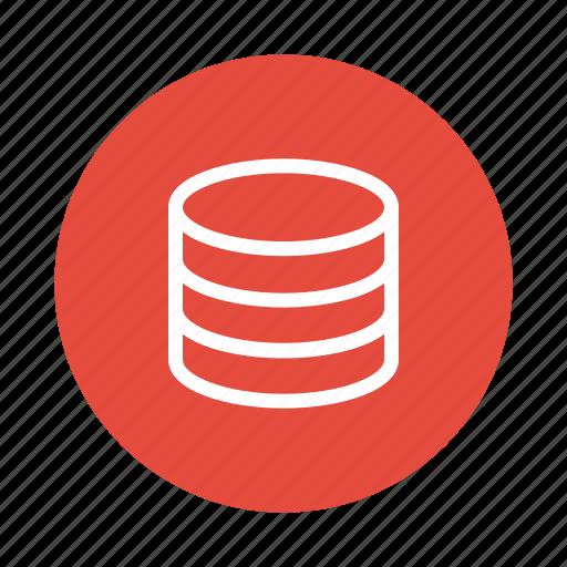 coins, data, finance, money, storage icon