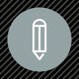 draw, edit, pen, pencil, sign, sketch, write icon