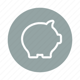 bank, banking, finance, guardar, money, pig, piggy, save icon