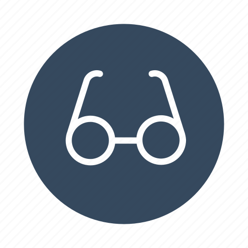 bookmark, glasses, look, read, reading, see icon