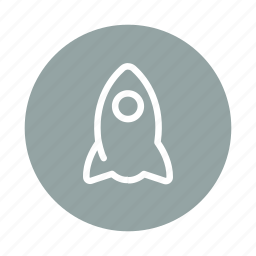 fly, launch, rocket, rocket launch, spaceship, startup icon