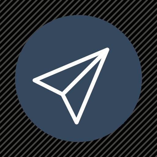 communication, document, message, paper, plane, send icon