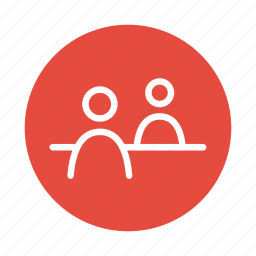 customer, help, meeting, people, service, support icon