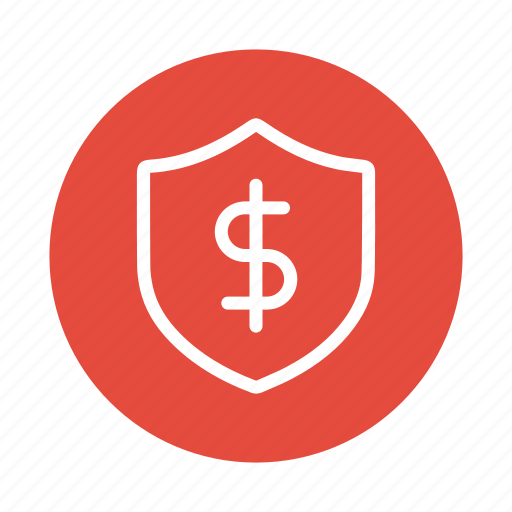 banking, finance, money, protect, safe, secure, shield icon