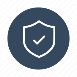 complete, done, protect, safe, safety, secure, shield icon