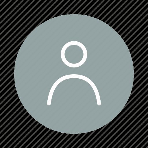 account, avatar, human, login, person, profile, user icon