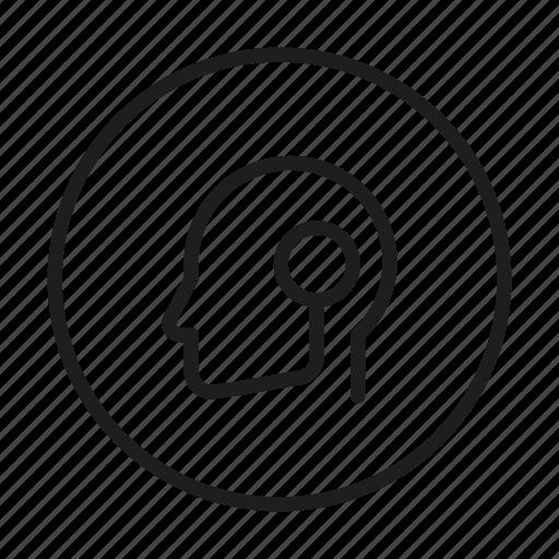 avatar, droid, dummy, person, profile, robot, user icon