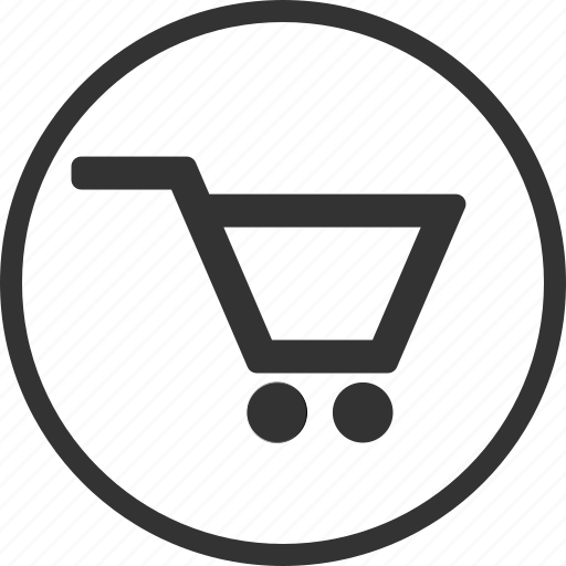 buy, cart, circle, sale, shop icon