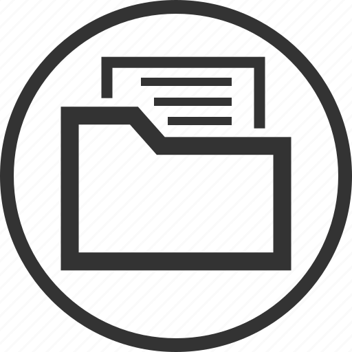 File, folder, document icon - Download on Iconfinder