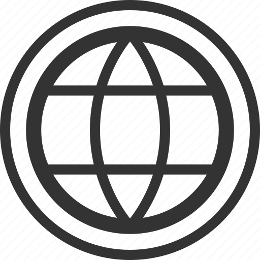 circle, earth, language, web, world icon