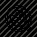 worldwide, circular, eco, economy, friendly, model, linear icon