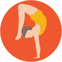 acrobatic, acrobatic yoga, gymnastic feats, gymnastics, yoga icon