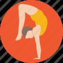 acrobatic, acrobatic yoga, gymnastic feats, gymnastics, yoga icon