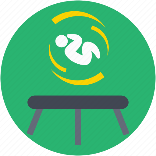 circus trampoline, jumping pad, play, trampoline acrobatic, trampoline jumping icon