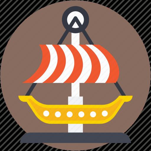 boat, circus boat, dragon swing, swing, swing boats icon
