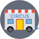 circus, circus cage, circus car, circus train car, circus wagon icon