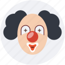 circus, clown, fun, jester, joker
