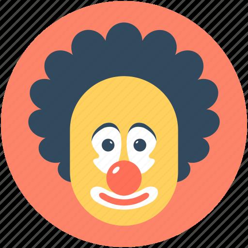 Buffoon Clown Jester Joker Joker Face Icon