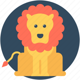 animal, animal show, circus animal, circus lion, performance icon