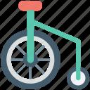 clown bike, unicycle, clown cycle, monocycle, circus cycle