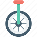 carnival, circus performance, circus unicycle, giraffe unicycle, unicycle icon