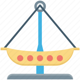 amusement park, fair ride, fairground, pirate ship ride, ship ride icon