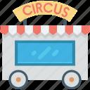circus train car, circus car, circus, circus cage, circus wagon