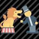animal show, performance, circus animal, animal, circus lion