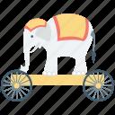 animal show, performance, circus animal, circus elephant, animal