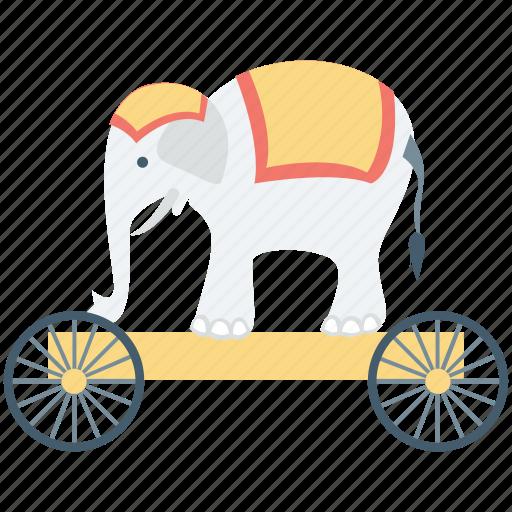 animal, animal show, circus animal, circus elephant, performance icon