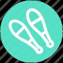 bowling pins, circus, juggling, juggling club, maraca, show icon