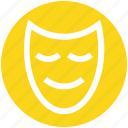 celebrations, circus, circus mask, face mask, festivity, mask icon
