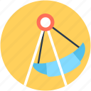 amusement park, fair ride, fairground, pirate ship ride, ship ride icon