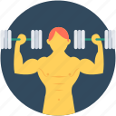 bodybuilder, weightlifting, gym, weightlifter, fitness