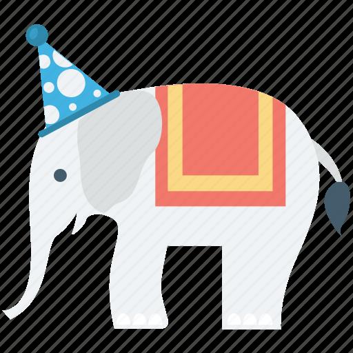 Animal, animal show, circus animal, circus elephant, performance icon - Download on Iconfinder