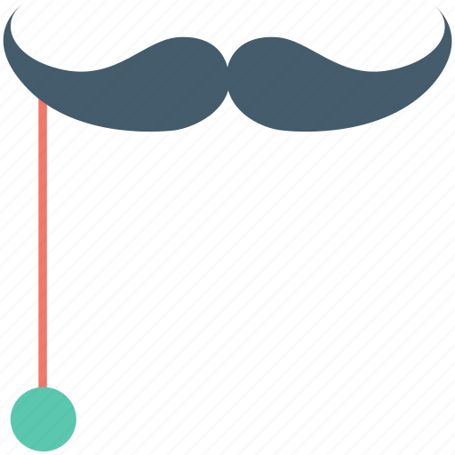 costume, hipster, moustache, party props, whisker icon