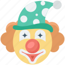 joker, jester, clown, joker face, buffoon