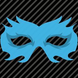 carnival mask, costume mask, eye mask, mardi gras mask, theater mask icon