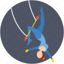 circus show, circus swing, circus trick, performance, trapeze icon