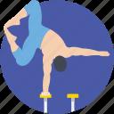 acrobatic, circus arts, gymnast, hand balancing, performer