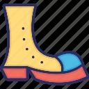 clown boots, clown shoes, costume, footwear, joker icon