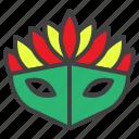 carnival, mask, masquerade, mystery