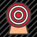 target, aim, game, dart