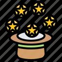 balls, entertainer, hat, juggle, magician