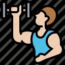bodybuilder, exercise, fitness, strongman, trainer