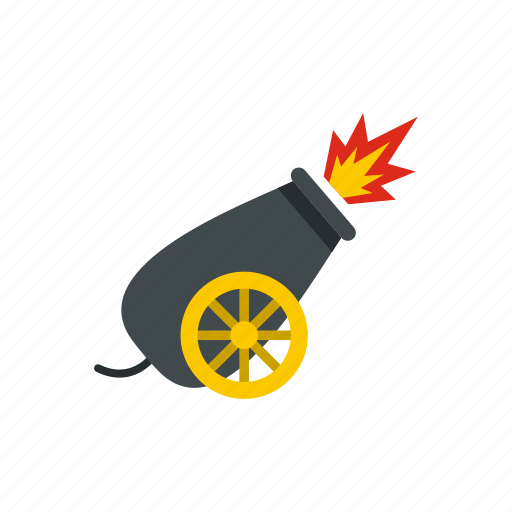 Ball, cannon, circus, entertainment, fun, performance, show icon - Download on Iconfinder