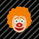 carnival, clown, face, fool, humor, jester, joker icon