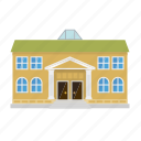 building, city, college, museum, school, university icon
