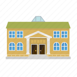 building, city, college, museum, school, university icon