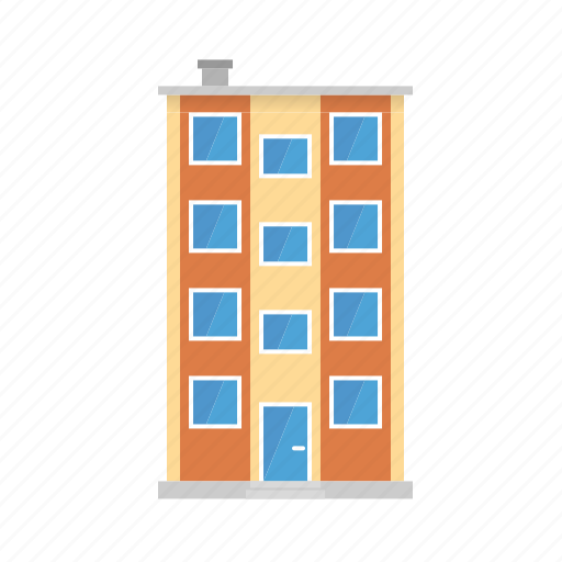 apartment, building, city, homes, tenement icon